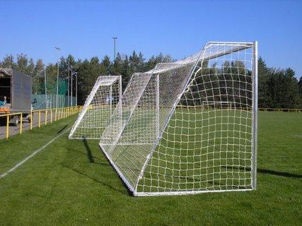 Hliníková fotbalová branka přenosná