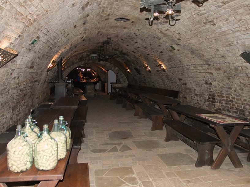 Valtické podzemí degustace vín Valtice