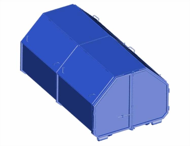 Výroba natahovací kontejnery