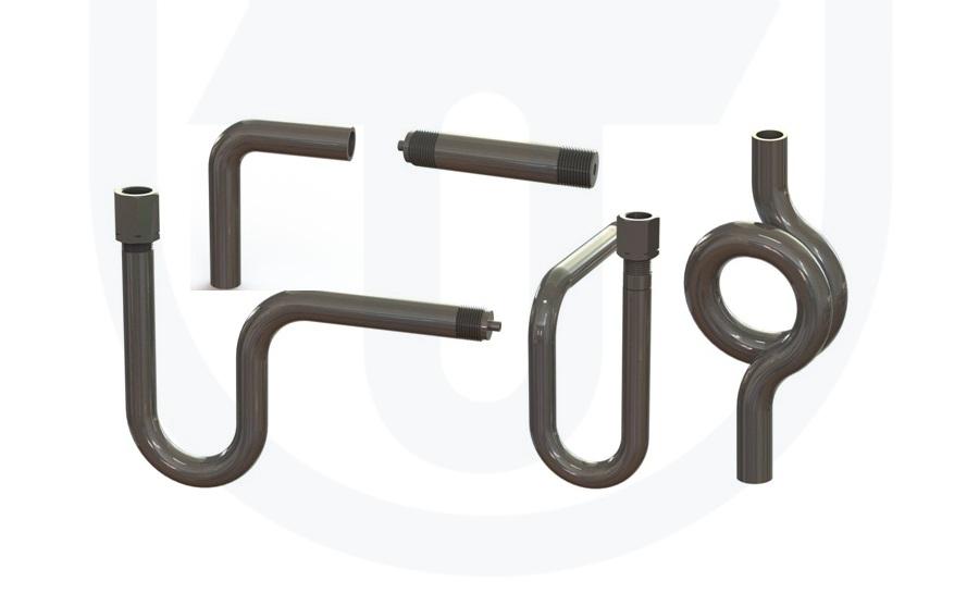 Tlakoměrové kondenzační smyčky a nástavce, prodej | Nová Paka