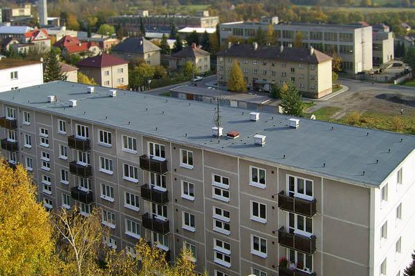 rekonstrukce a realizace plochých střech Rožnov