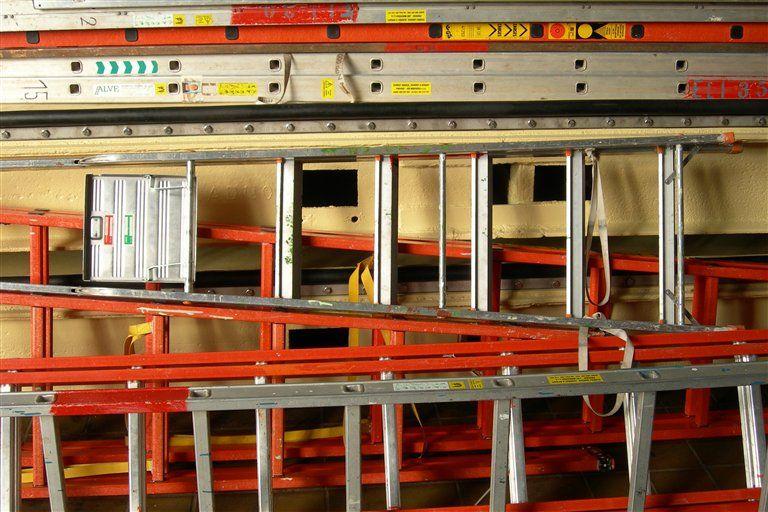 Testování, měření a kontroly přenosných žebříků | Nové Město nad Metují