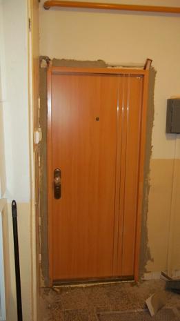 montáž exteriérové dveře Prostějov, Olomouc