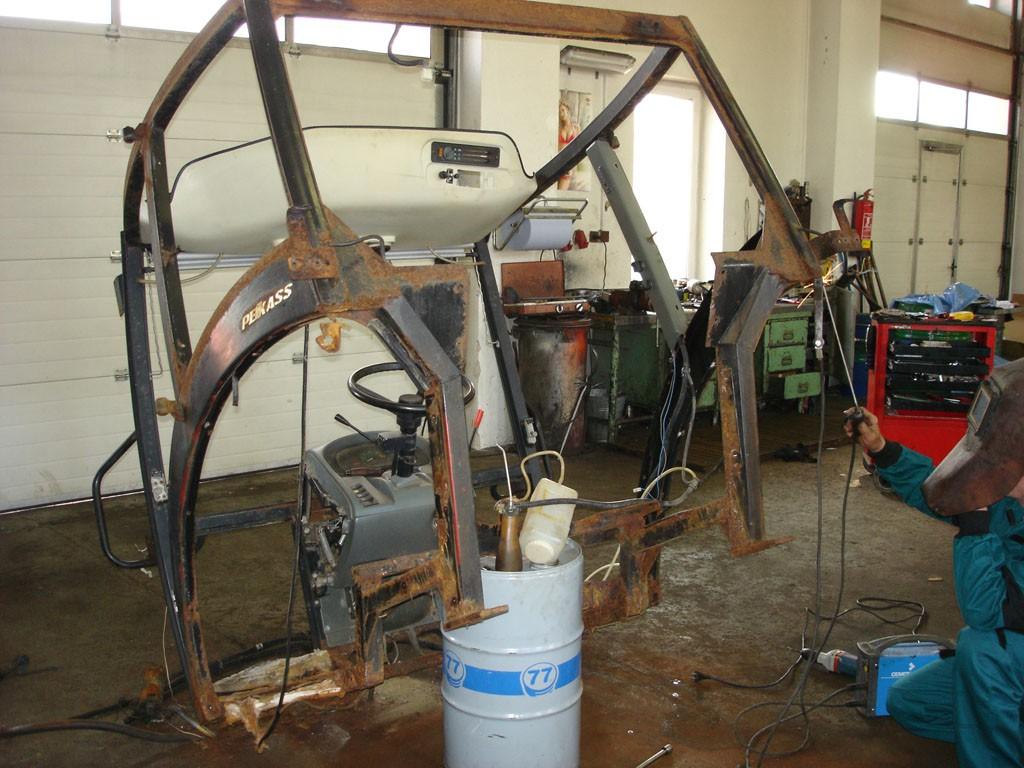 Opravy traktorů Zetor Kolín