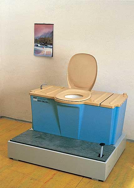 mobilní toaleta se hodí na chatu i do nemocnic