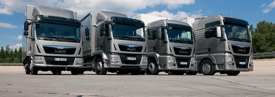Truck servis MAN, prodej náhradních dílů Zlín