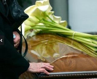Pohřeb v kostele - Staré Město, Uherské Hradiště