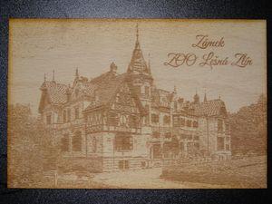 Laserové gravírování fotografie, na sklo, plexisklo, do dřeva, žuly Zlín, Zlínský kraj