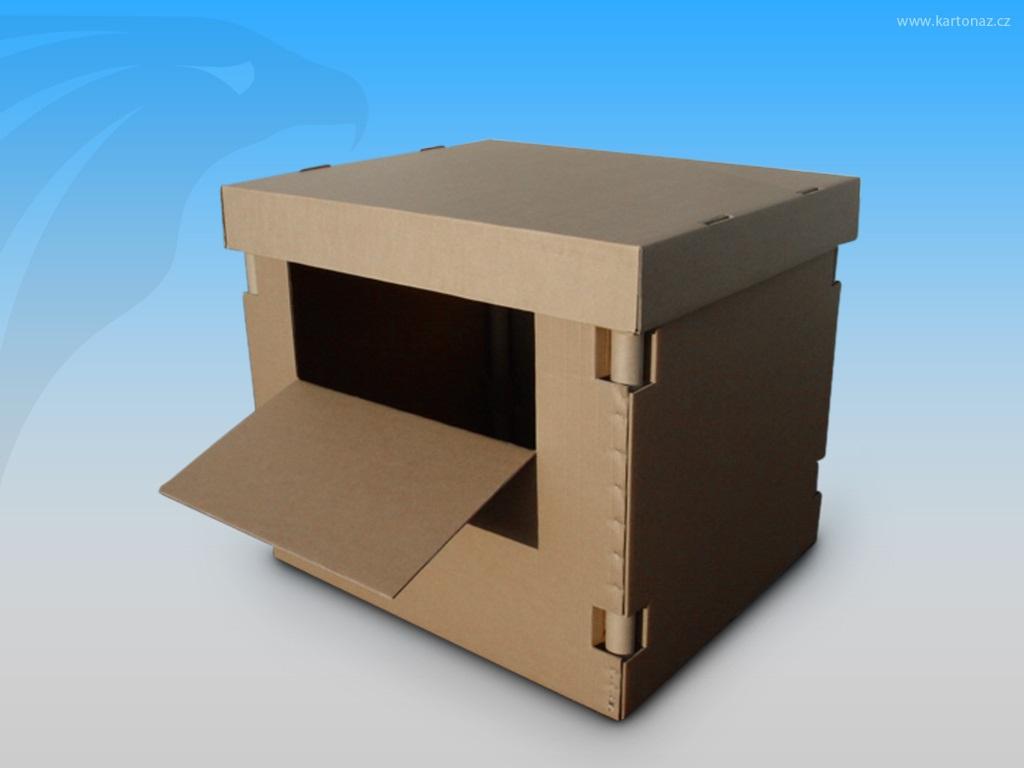 Pevné papírové boxy