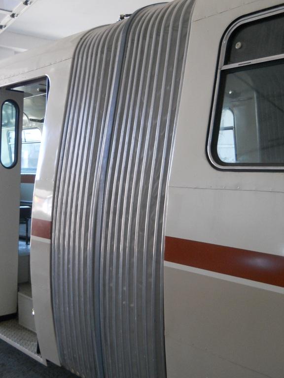 Přechodové vlnovcové měchy pro autobusy, trolejbusy