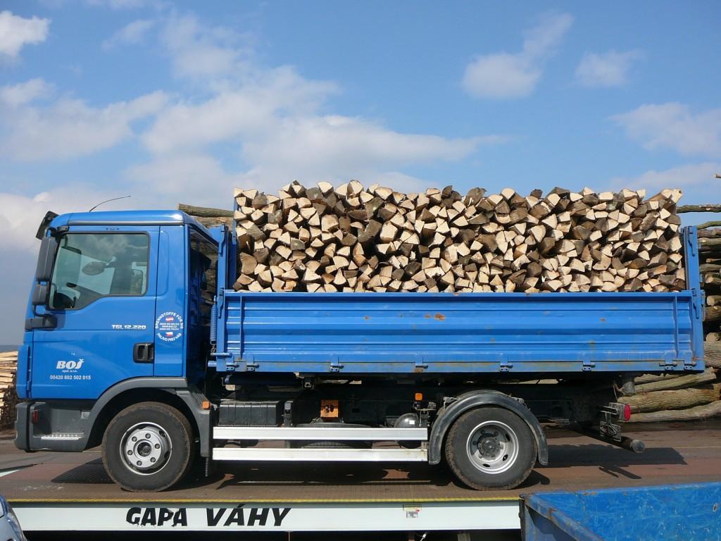 Vertrieb von festen Brennstoffen, Schnittholz und gespaltenes Holz, Holzscheite, Tschechische Republik