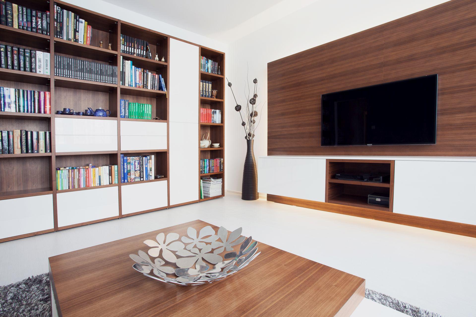 Realizace interiéru bytu na míru - Zlín