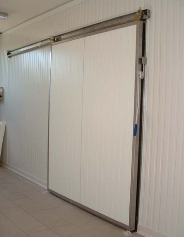 Tepelně izolované, mrazírenské, chladírenské dveře - výroba, montáž