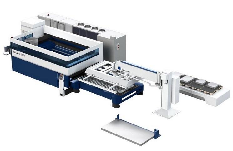 Pálení plechu vláknovým laserem TRUMPF 3030