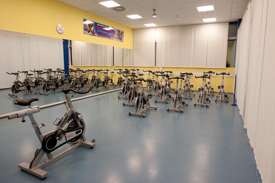 Vybavení tělocvičny je moderní