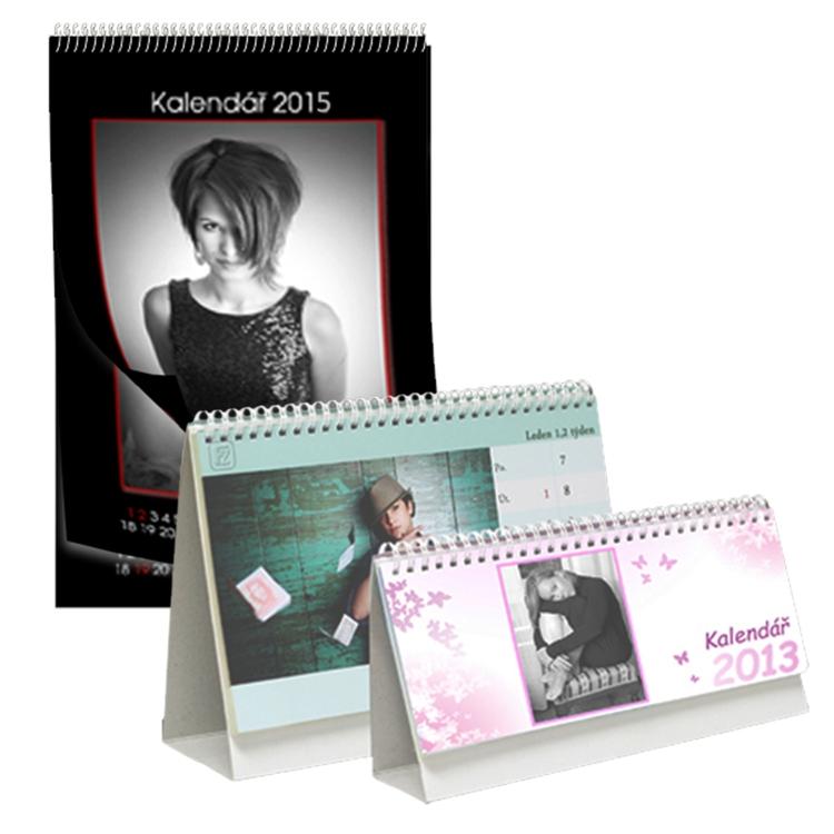 Online objednání fotokalendáře, kalendáře z vlastních fotek