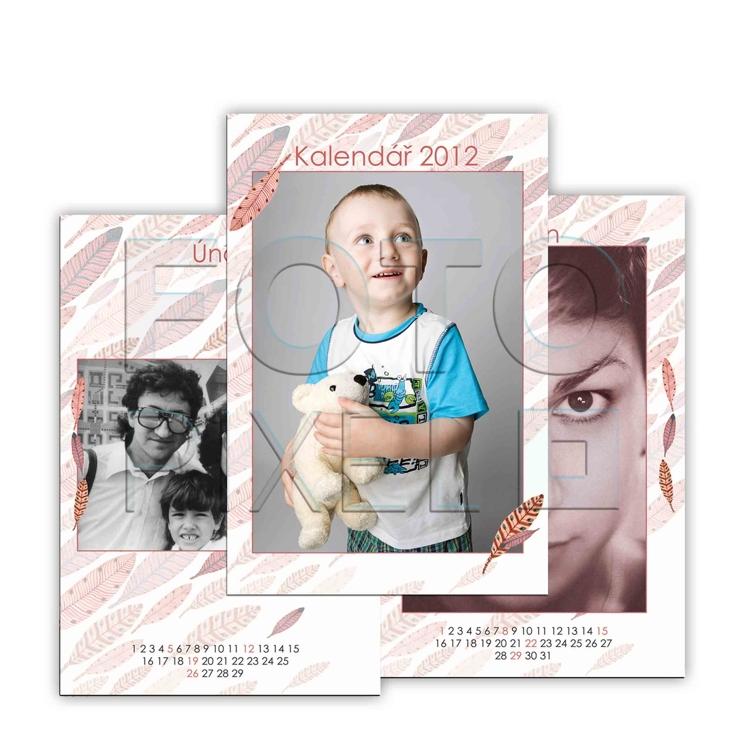 Nástěnné kalendáře z vlastních fotek