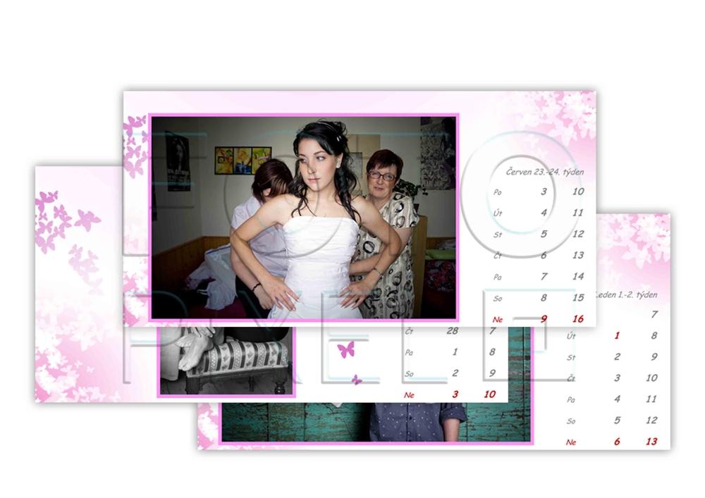 Stolní kalendáře z vlastních fotek