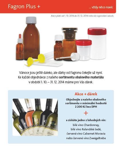 Verpackungsmaterial für Apotheken und medizinische Einrichtungen, die Tschechische Republik