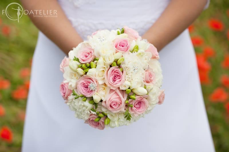 svatební kytice Přerov