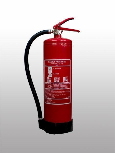 Přenosný hasicí práškový přístroj | Kolín