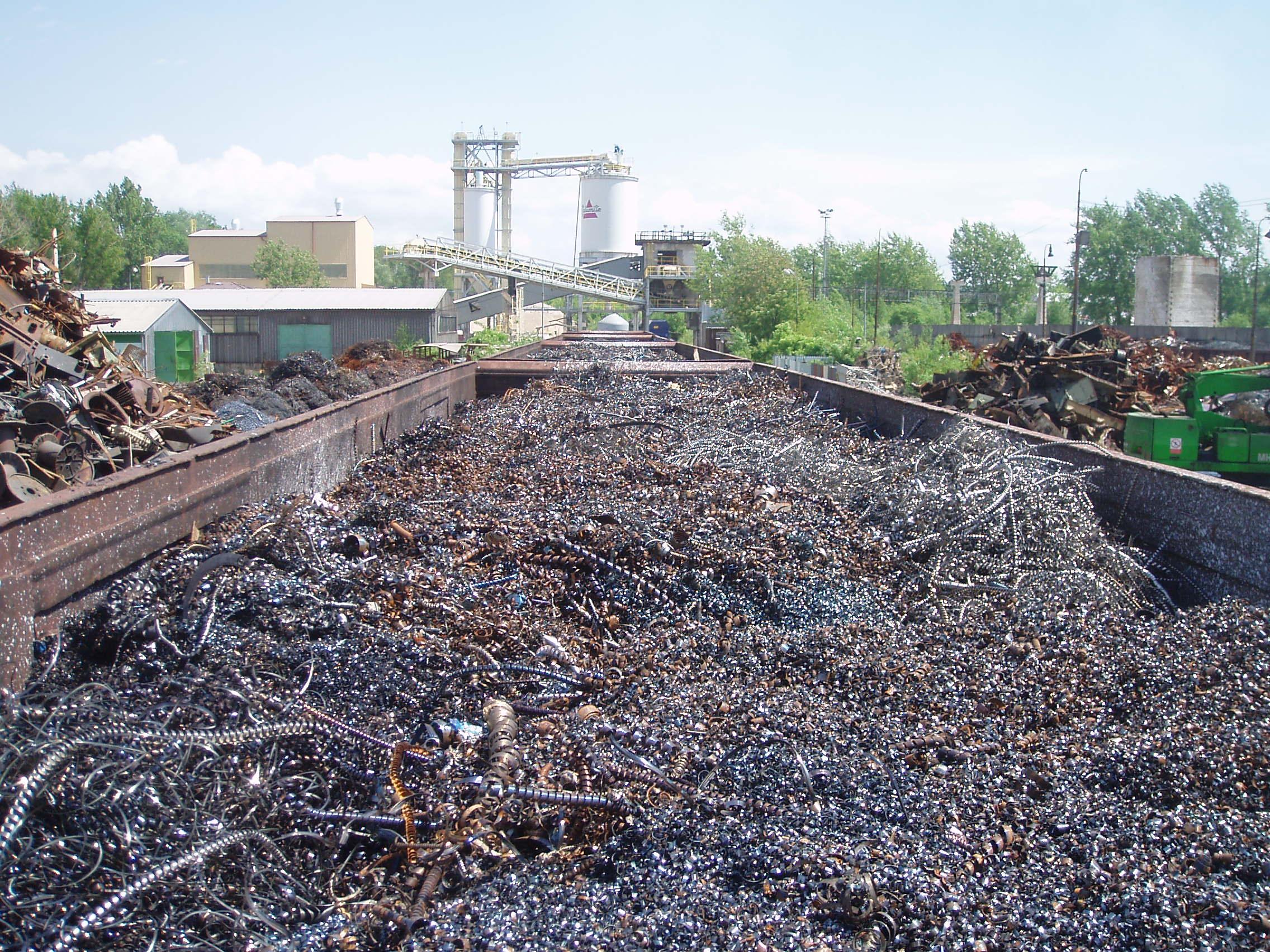 Výkup, zpracování kovového odpadu Šenov