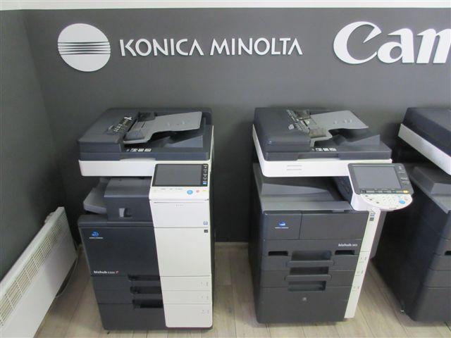 tiskárny Konica Minolta / Canon