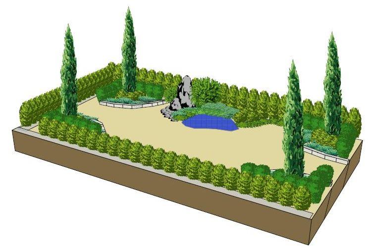 Návrhy zahrad s 3D vizualizací|Litoměřice
