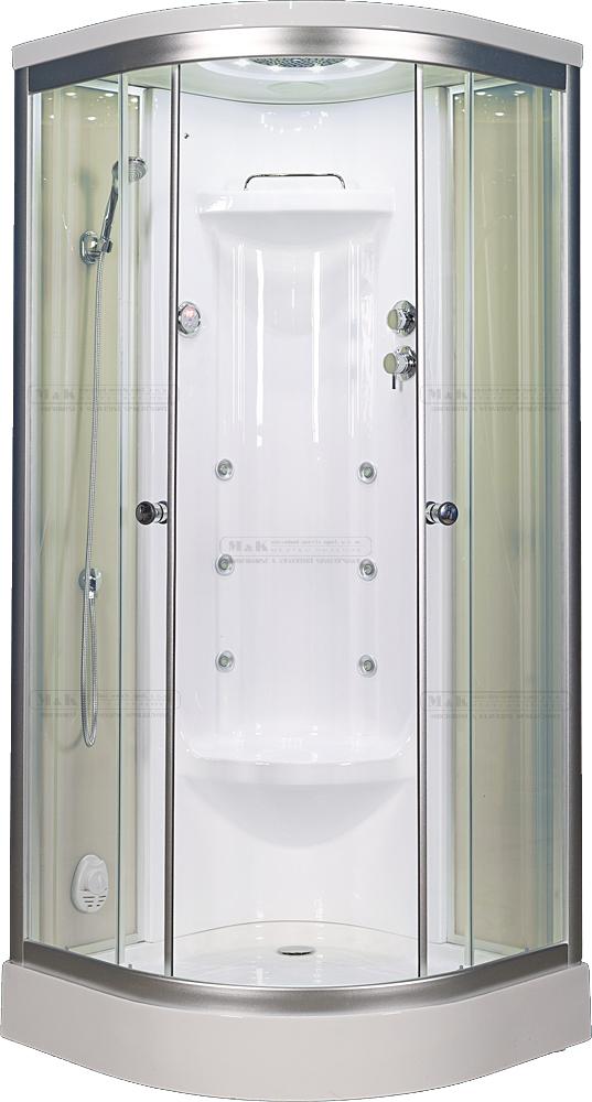 Sprchový kout s vaničkou - parní kabina
