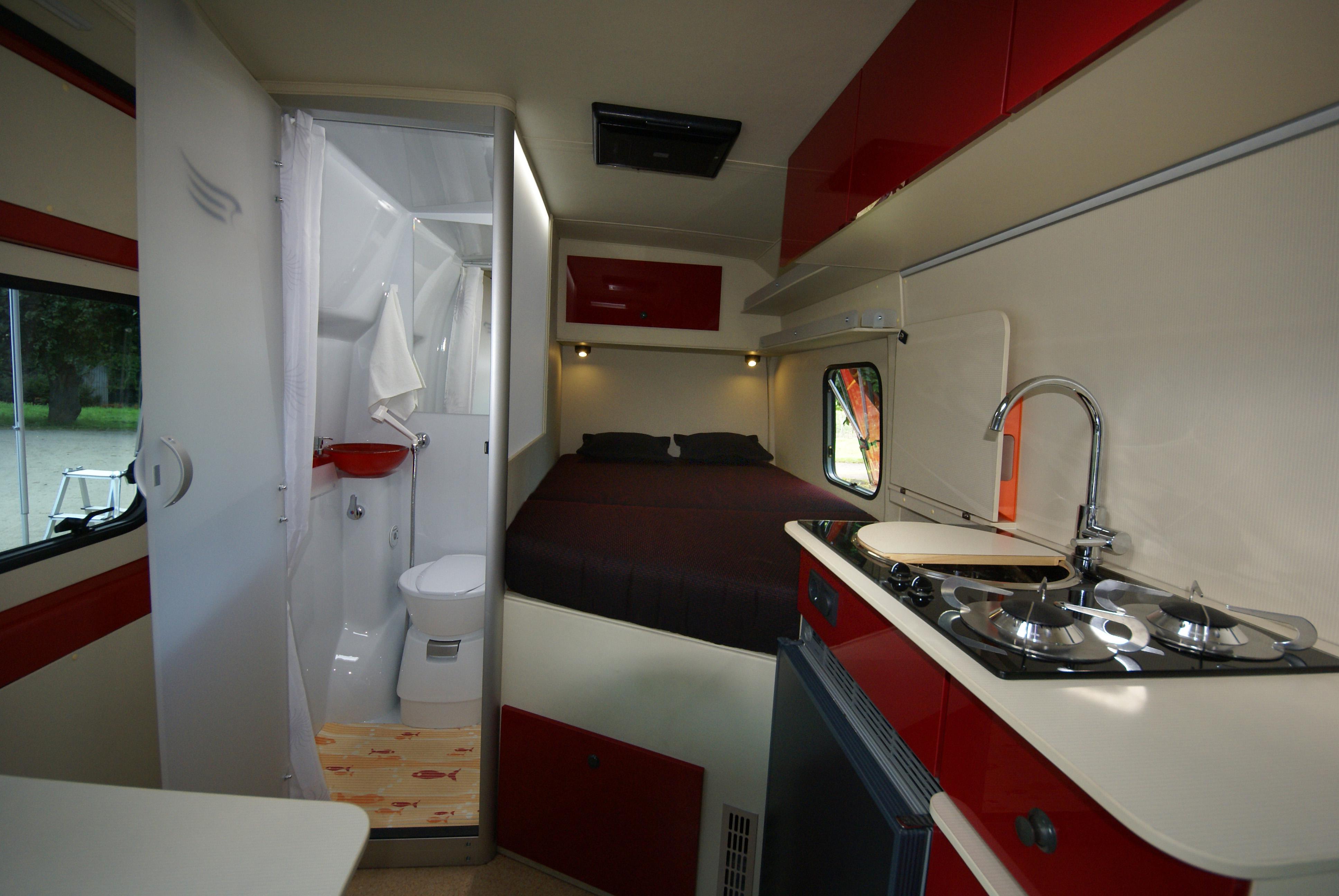 Interiér karavanu Sportissimo S