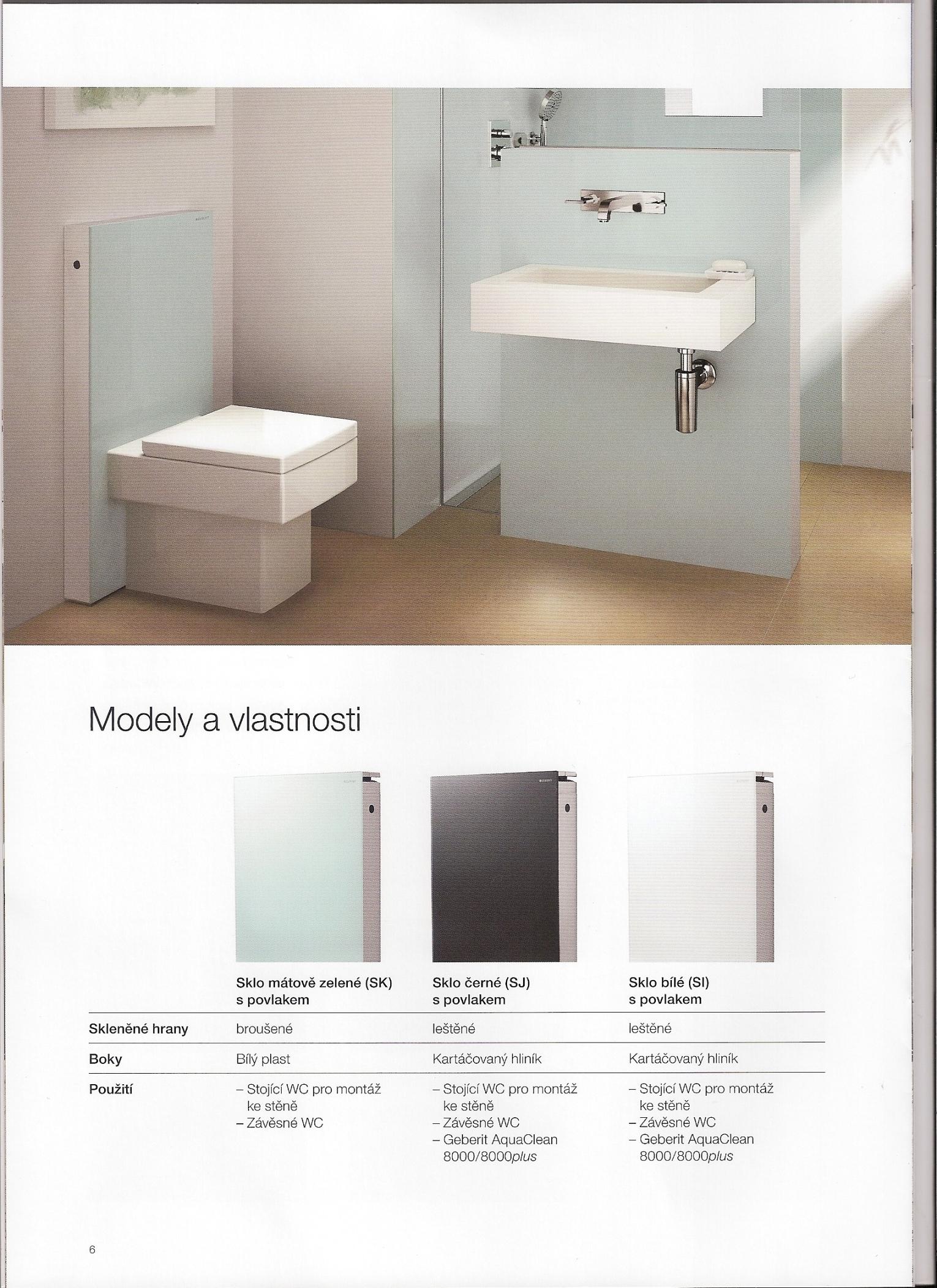 Sanitární modul pro WC Geberit Monolith Šumperk