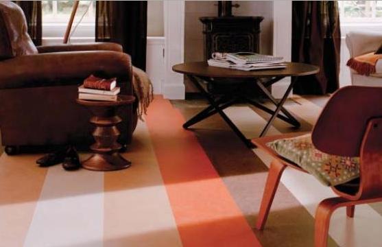Marmoleum je přírodní designová podlaha