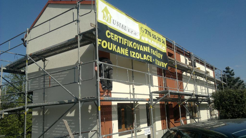 Fasády - oprava, zateplení Ostrava, Frýdek-Místek