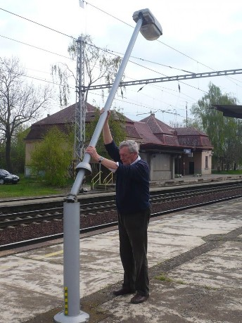 Veřejné osvětlení - stožáry