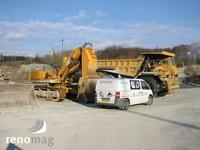 Opravy stavebních strojů - rypadel
