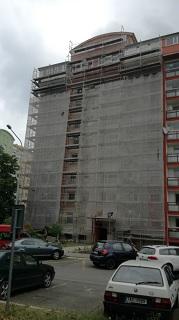 Pronájem fasádního lešení Praha - lehká hliníková konstrukce pro každou stavbu