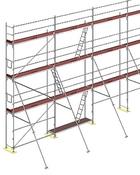 lehká hliníková konstrukce pro každou stavbu půjčovna Praha