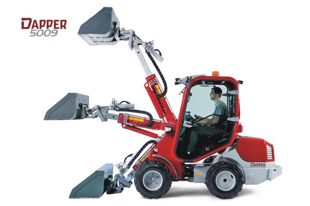 Multifunkční nakladač a nosič nářadí Dapper 5000 - pomocník pro všechny práce