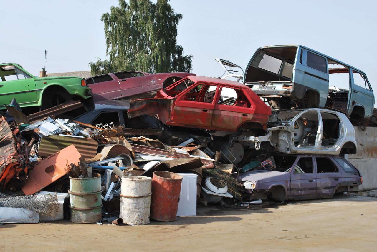 Zbavte se starého vozidla a nechte ho zdarma zlikvidovat
