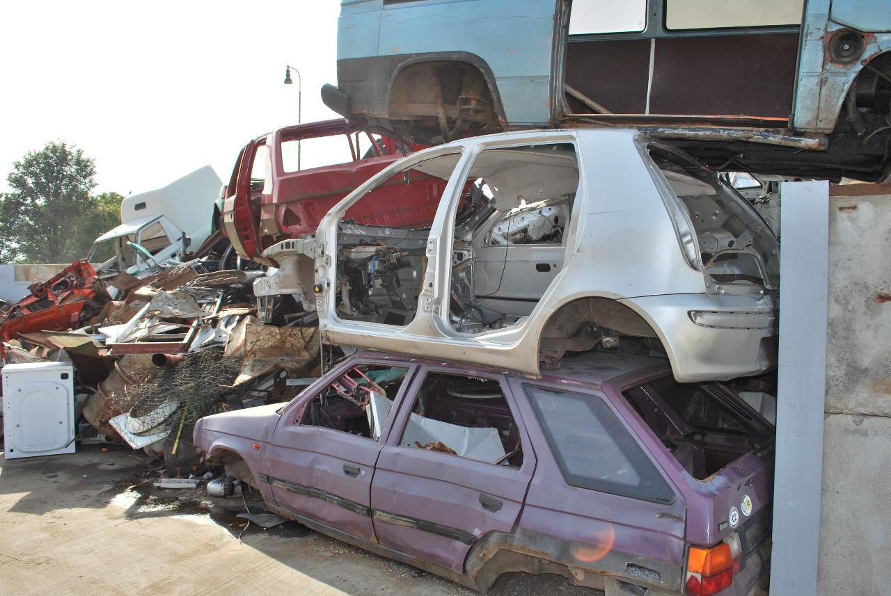 Ekologická likvidace ojetých aut