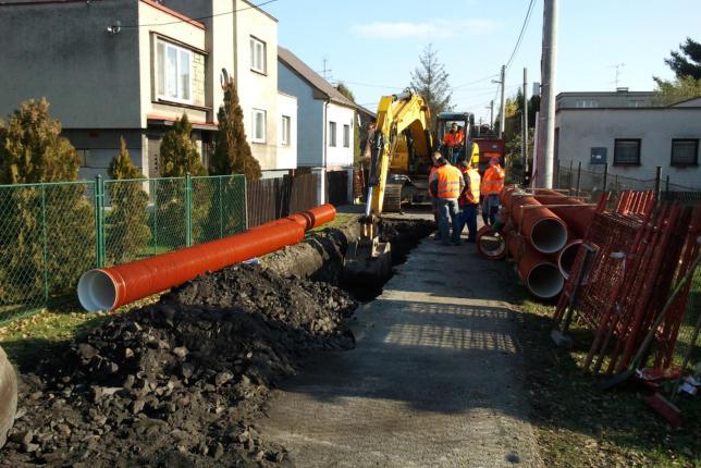 Rekonstrukce kanalizací