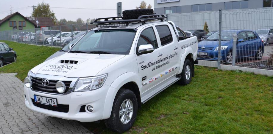 Výprodej skladových vozů Toyota Karlovy Vary- modely Hilux ihned k odběru