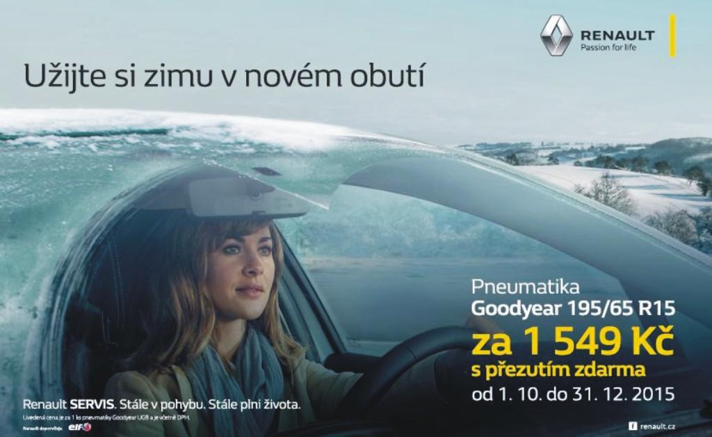 Zimní servis vozů Renault Olomouc, Šumperk