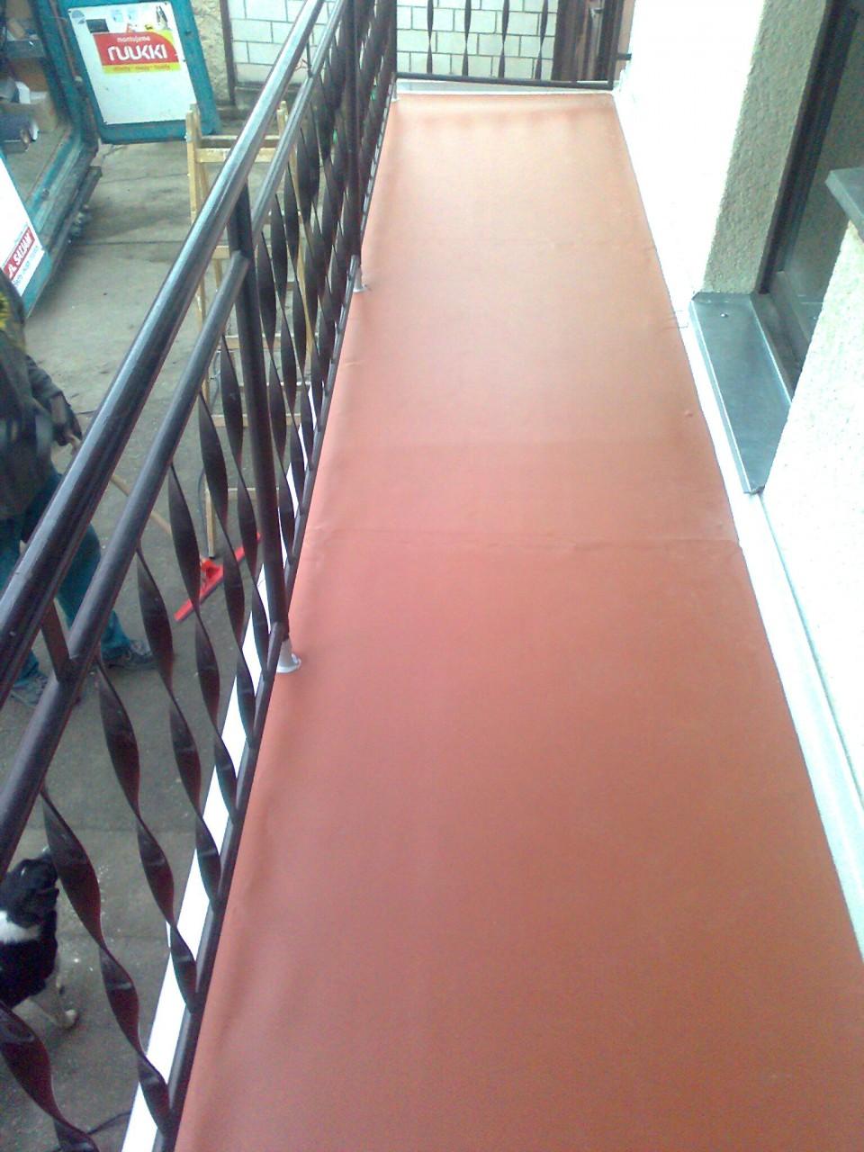Kvalitní hydroizolace plochých střech, izolace balkónů a teras