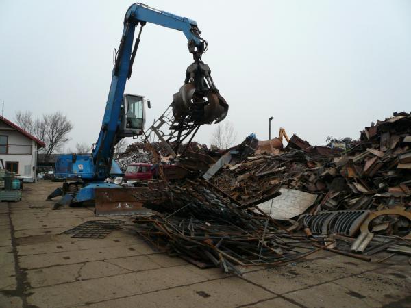 Výkup, zpracování a prodej železného a kovového odpadu, kovošrot