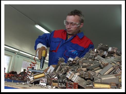 výroba granulátu z barevných kovů Praha