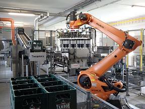 Průmyslové robotizované výrobní linky