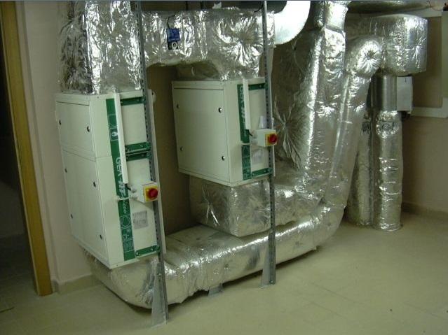 Vzduchotechnika pro domy, byty, zdravotnická zařízení i výrobní haly