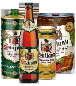 Svijanský máz 11% - světlý nepasterovaný ležák z pivovaru Svijany