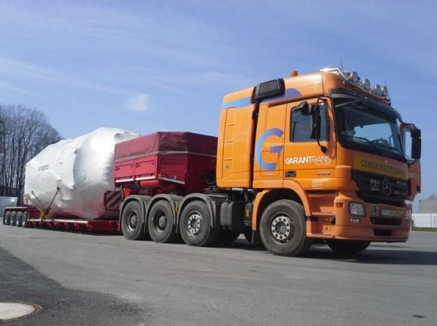 Přeprava betonových dílců